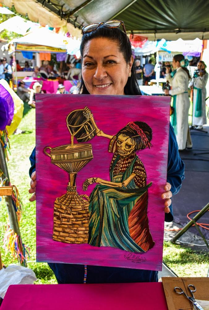 Chapala Art Show purchase